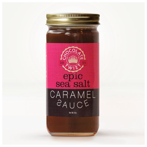 Epic Sea Salt Caramel Sauce