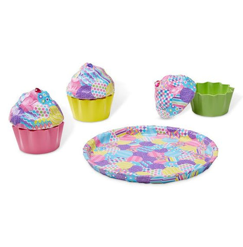Melissa & Doug Decoupage Made Easy Deluxe Craft Set Cupcakes