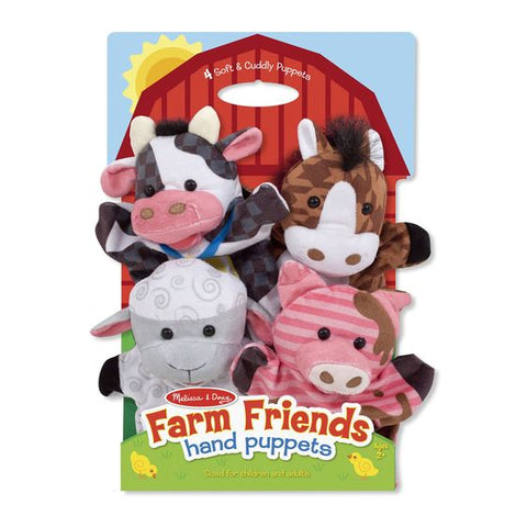 Melissa & Doug Farm Friends 4pk Hand Puppet