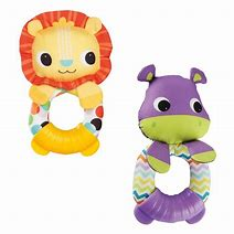 Bright Starts Teether & Rattle Pals
