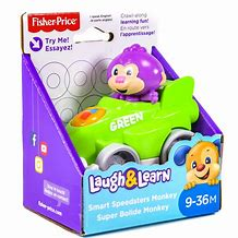 Fisher Price Laugh & Learn Smart Speedster Monkey