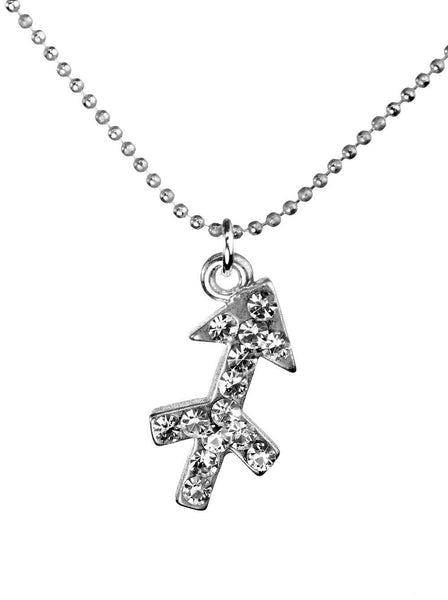 Sagittarius & Swarovski Crystal Elements Sparkle Zodiac Sign Necklace