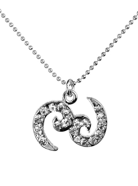 Cancer & Swarovski Crystal Elements Sparkle Zodiac Sign Necklace