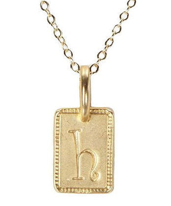 FREE SHIPPING Tag Initial Charm Necklace AVAILABLE Gold, Silver, Rose Gold!!