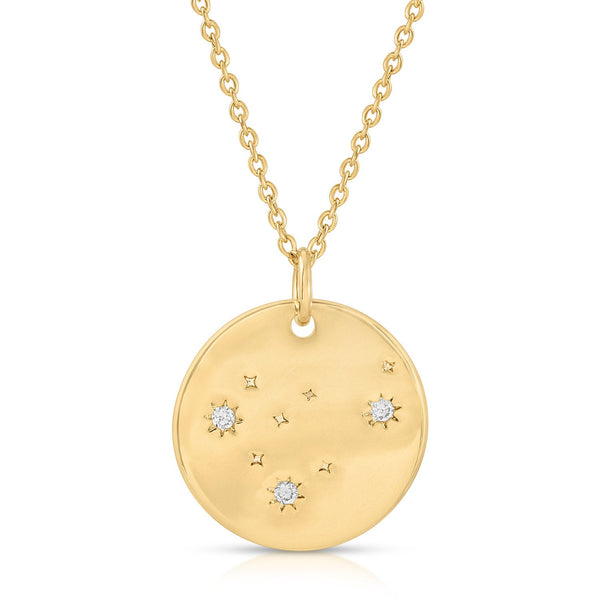 Capricorn Constellation Token Zodiac Necklace