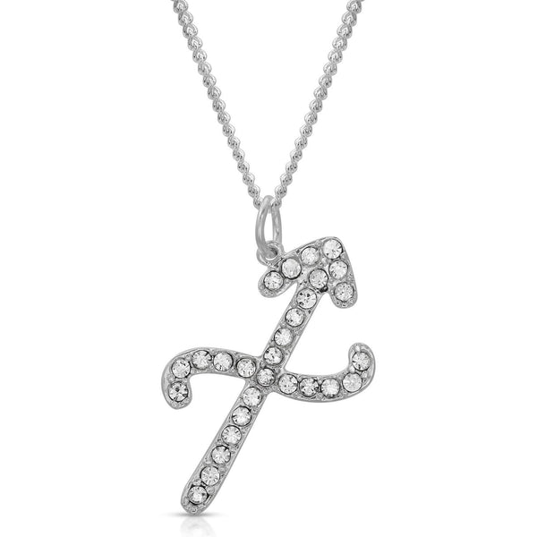 FREE SHIPPING Sagittarius Fine Pave Crystal Zodiac Festoon Necklace