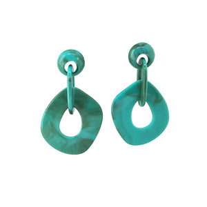 Augusta hoop earrings