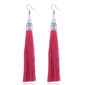 Kim tassel earrings