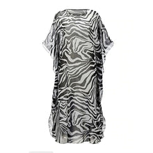 Load image into Gallery viewer, Zebra maxi dress