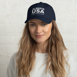 Alberta USA Hat - Buy more than one and save on shipping!