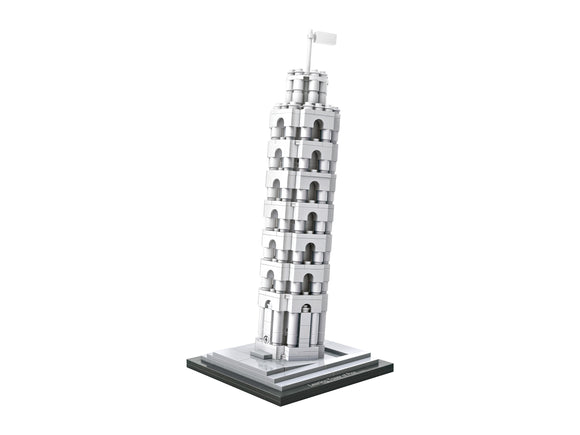 LEANING TOWER OF PISA MINI ARCHITECTURES - BY LOZ 1010