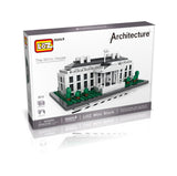 WHITE HOUSE MINI ARCHITECTURES - BY LOZ 1013