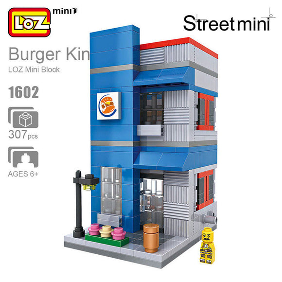 BURGER KING STREET MINI LOZ 1602