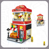 LOZ STREET MINI PIZZA SHOP 1628