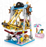 LOZ MINI PLAYGROUND CORSAIR PIRATE SHIP 1717