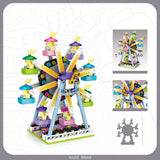 LOZ MINI PLAYGROUND FERRIS WHEEL 1718