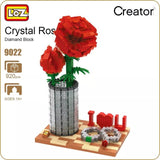CRYSTAL ROSE 9022 LOZ DIAMOND BLOCK