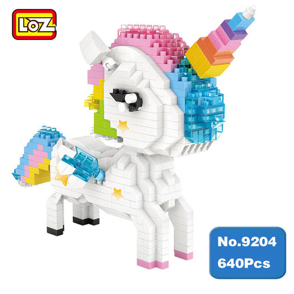 LOZ DIAMOND BLOCK UNICORN 9204