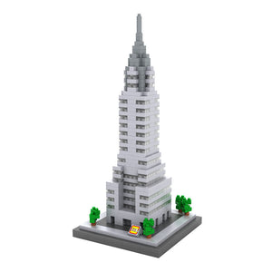 CHRYSLER BUILDING DIAMOND BLOCK 9381 - BY LOZ