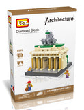 BRANDENBURG GATE DIAMOND BLOCK 9385 - BY LOZ