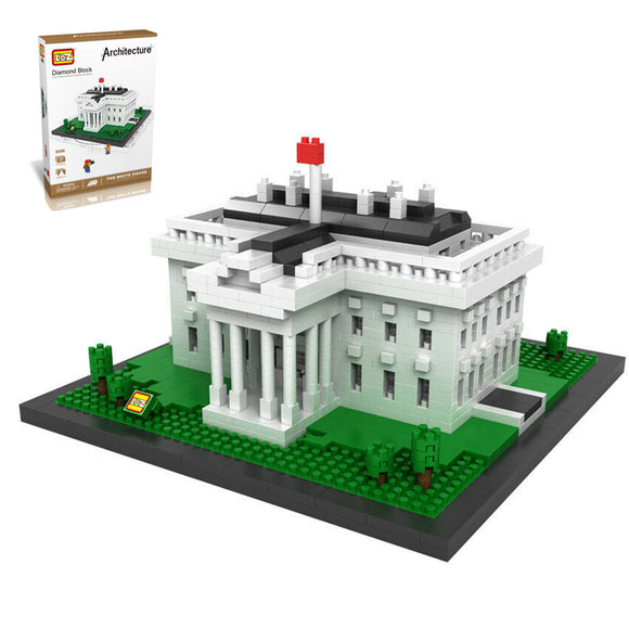 THE WHITE HOUSE DIAMOND BLOCK 9386 - BY LOZ