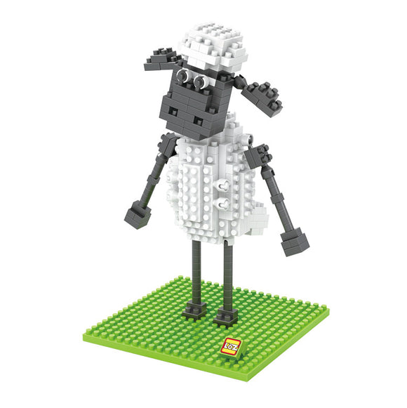 LOZ DIAMOND BLOCK SHAUN THE SHEEP 9477