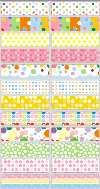 POLKA DOTS - STICKERS