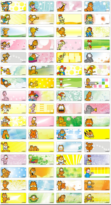 GARFIELD - STICKERS