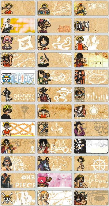 ONE PIECE - STICKERS