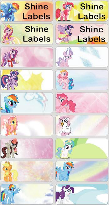 MY LITTLE PONY - STICKERS