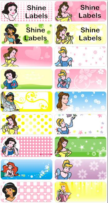 PRINCESS - STICKERS