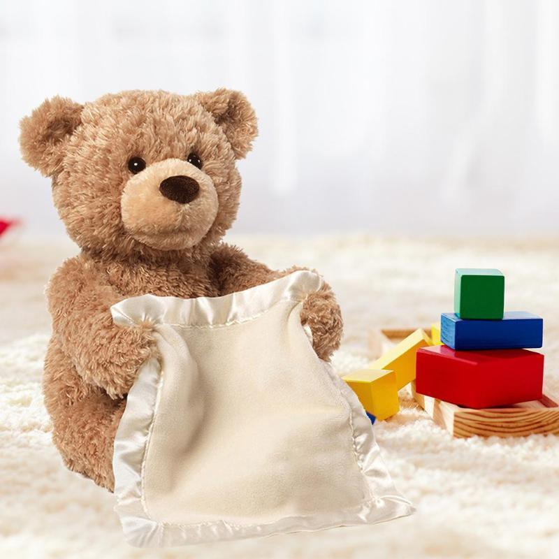 HOT!  The latest kid toy! Peek-A-Boo Teddy