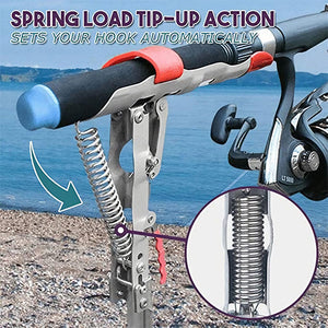 Adjustable Automatic Fishing Rod Rack