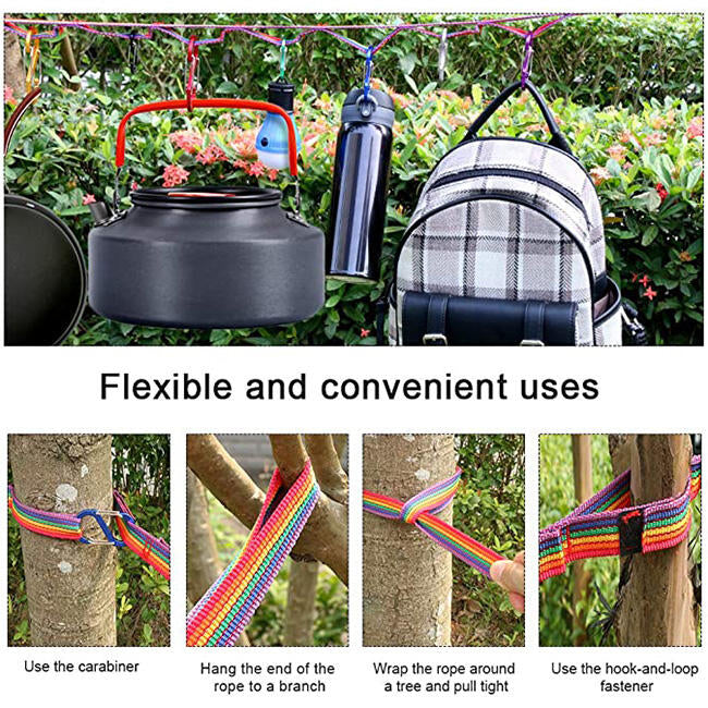 Colorful Outdoor Camping Storage Strap