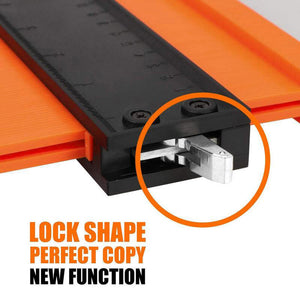 Adjustable Contour Gauge Profile Tool