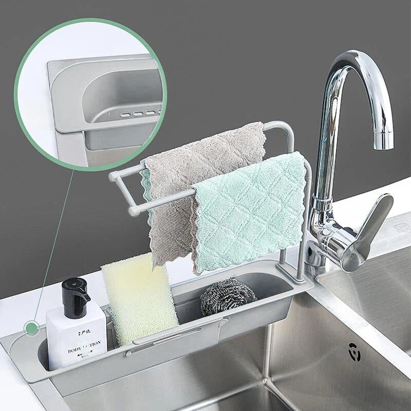 Telescopic Sink Storage Holder