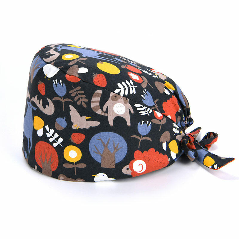 Cute Graphic Adjustable Sweatband Working Cap