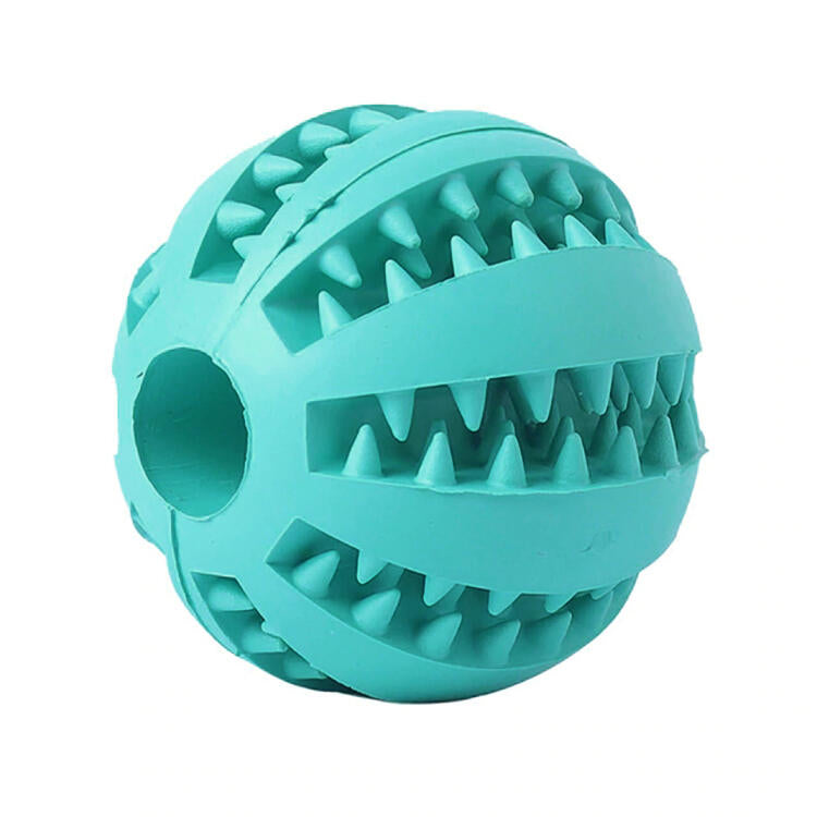 Interactive Pet Dog Elasticity Chew Toy Ball