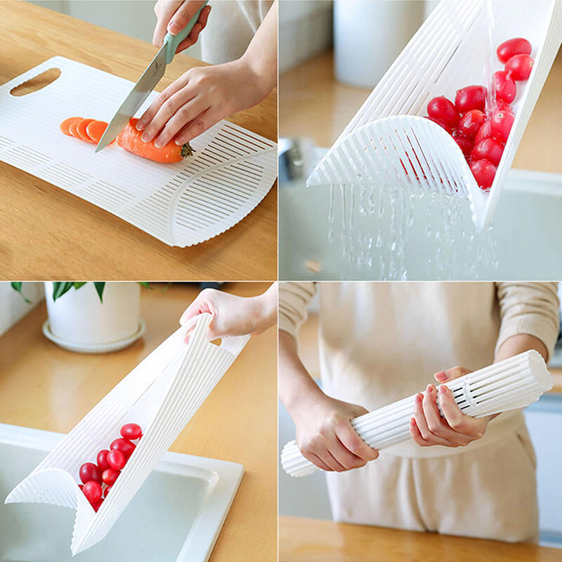 Kitchen Multi-Functional Foldable Cutting Board