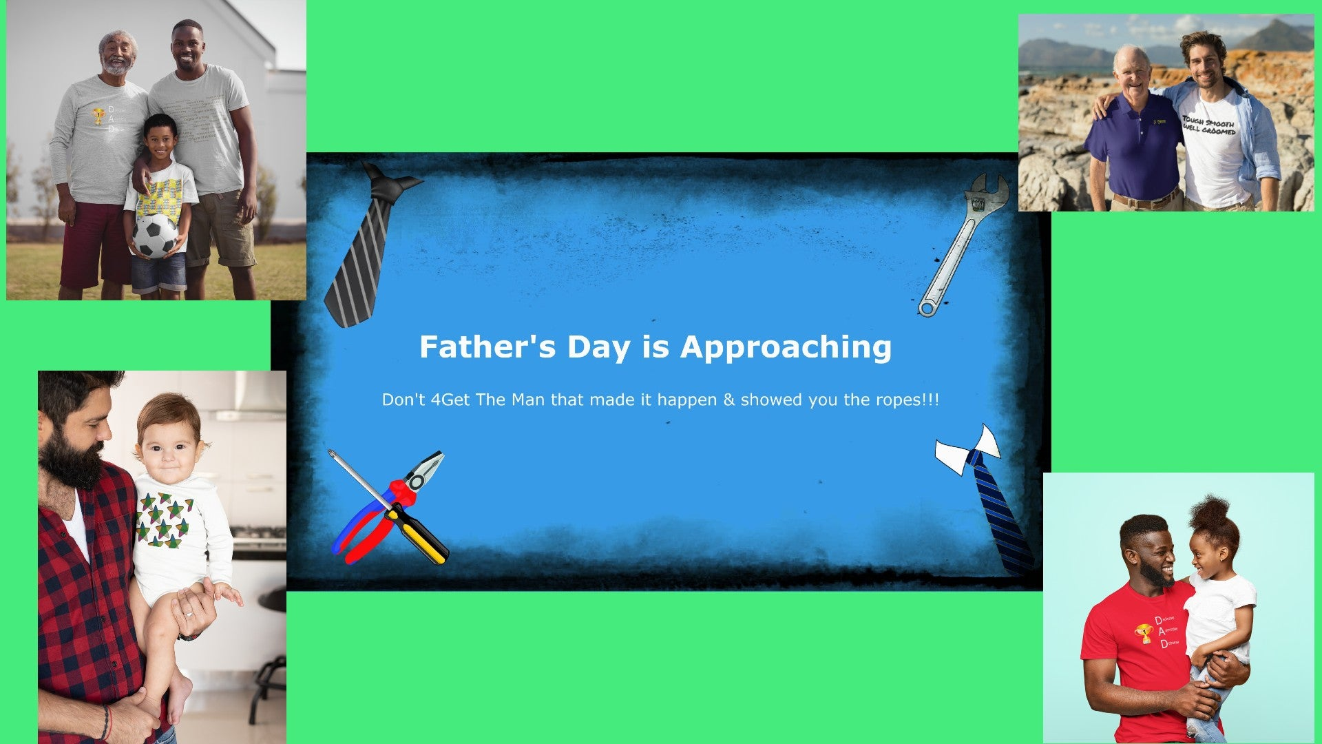 Father's Day Promotional
