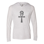 Load image into Gallery viewer, Favored Women's Triblend Hooded Tee - Tie-Fly