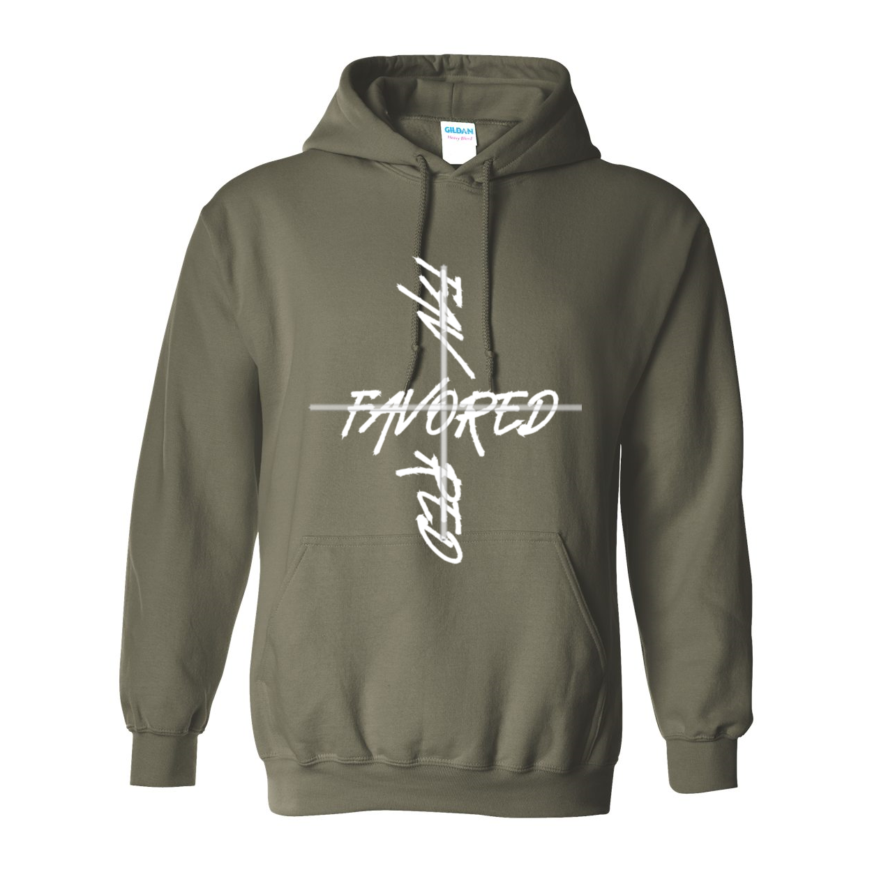 Favored 2 Unisex Heavy Blend Hooded Sweatshirt - Tie-Fly