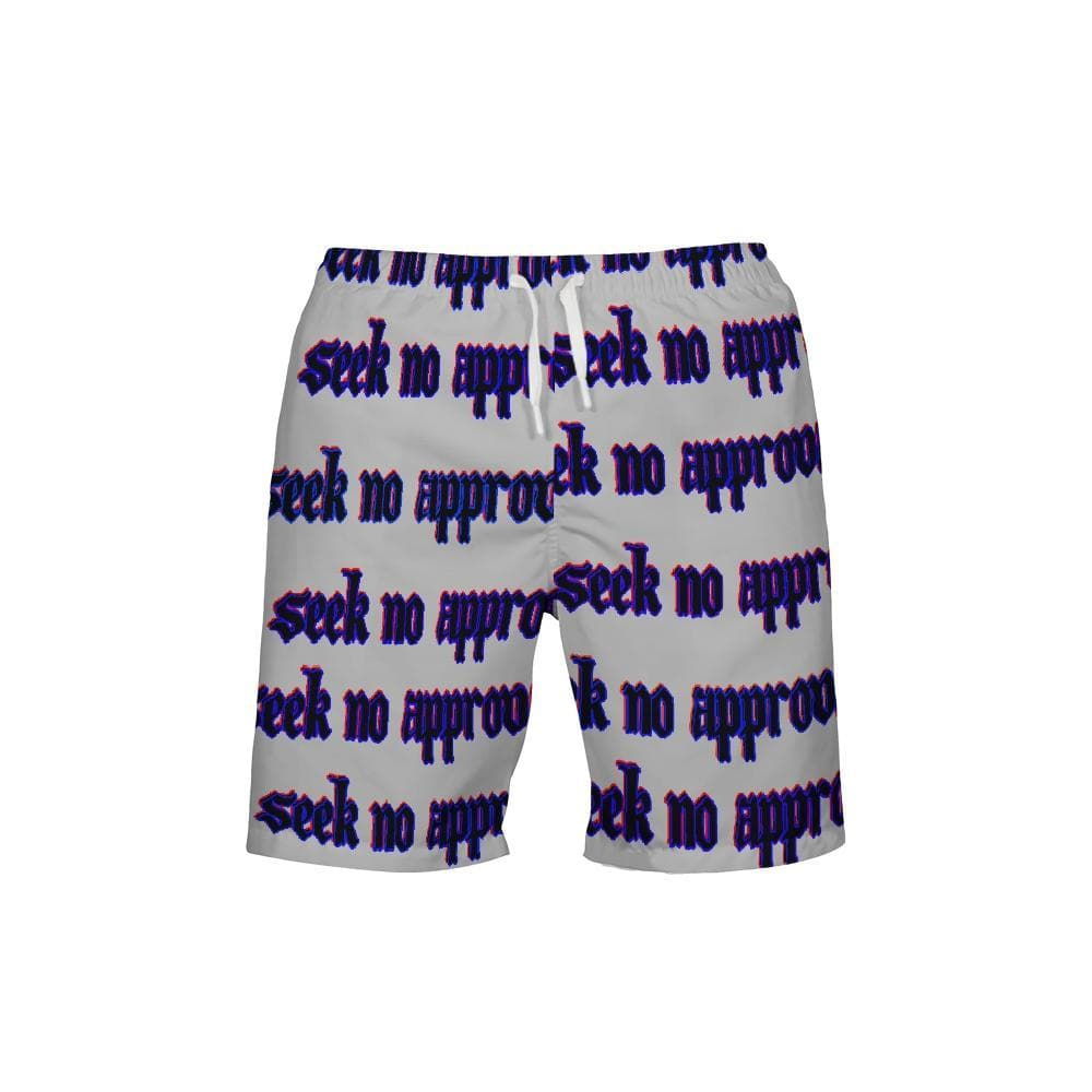 Seek No Approval 2 Men's Swim Trunk - Tie-Fly