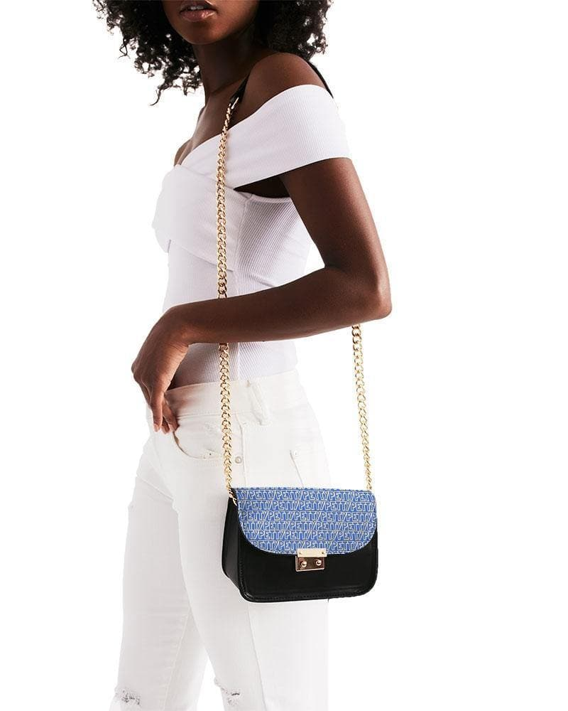 Petty Repeat - Blue Small Shoulder Bag - Tie-Fly