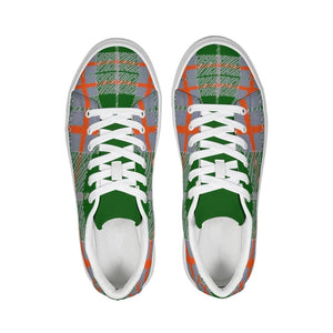Tribute to Plaid Sneaker, shoes -tie - fly