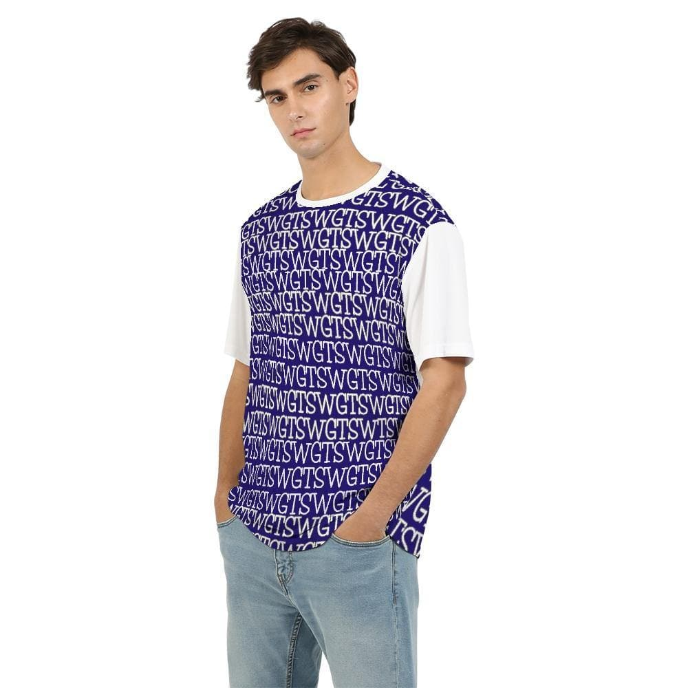 TSWG Repeat - Blue Men's Tee - Tie-Fly