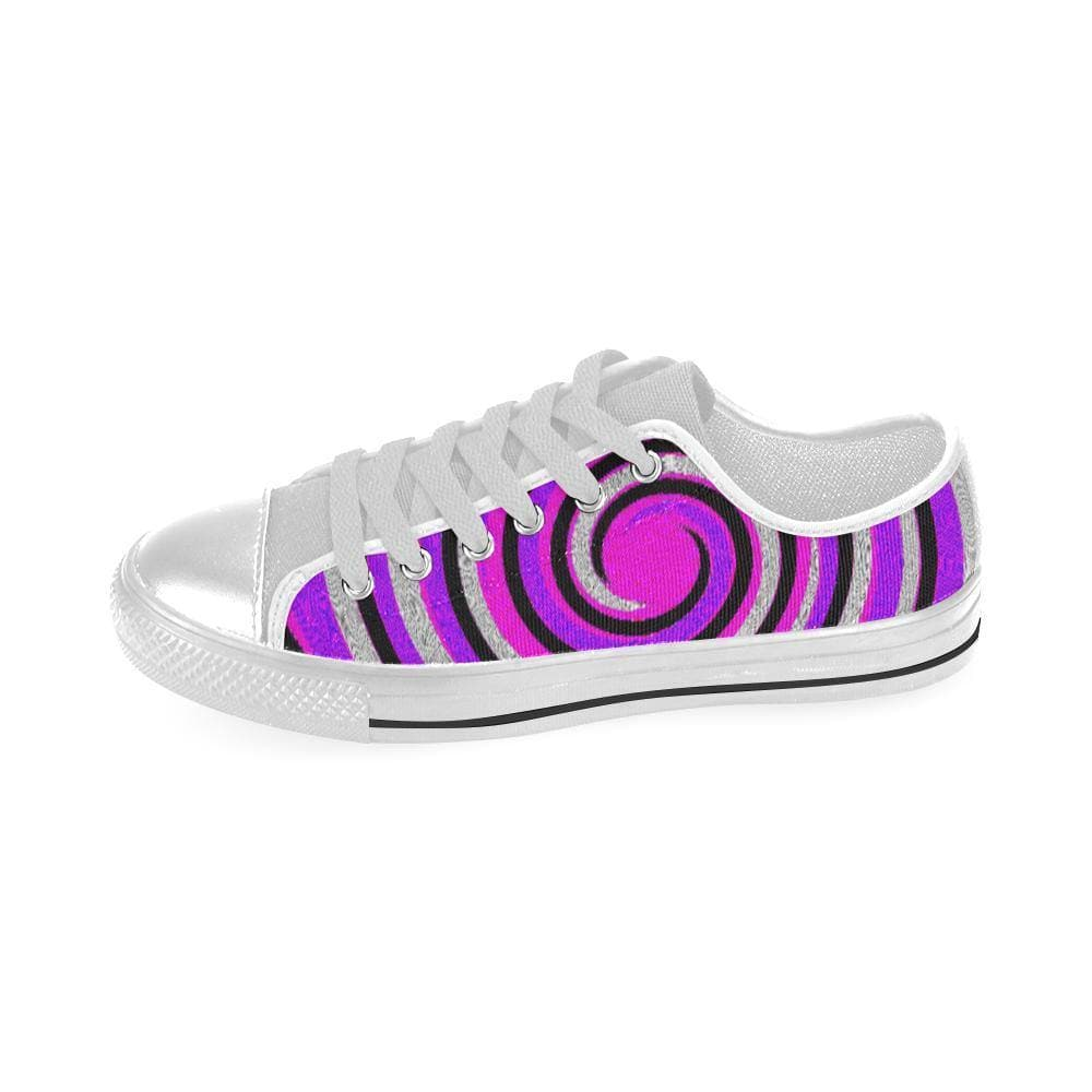 Teacher's Pet Royal Swirl Aquila Canvas Shoe - TFC&H Co.