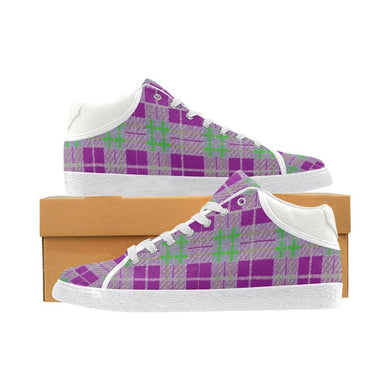 Tribute to Plaid Women's Chukka Canvas Shoe, [product_type] -tie - fly