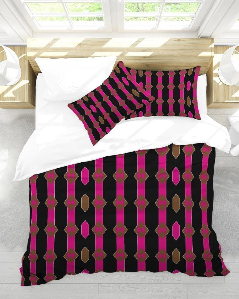 Coined King Duvet Cover Set - Tie-Fly