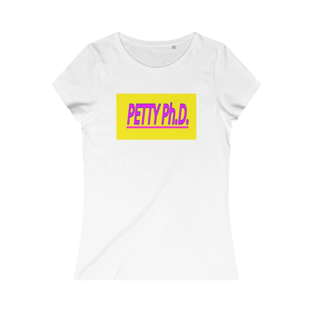 Petty Ph.d. Women's Organic Tee 2 - Tie-Fly